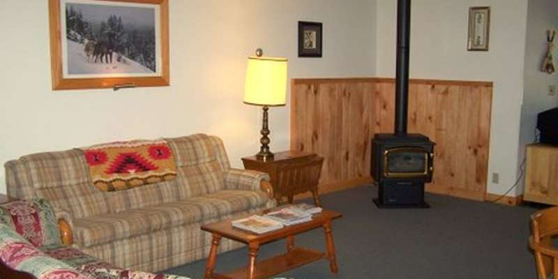 Buckhorn Retreat Living Area