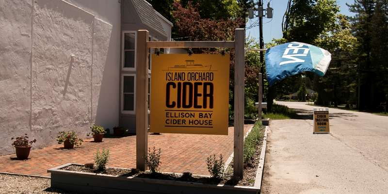 Ellison Bay Cider House & Tasting Room. Photo courtesy of Leo Purman.