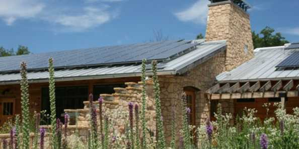 "Built in 2007, the Leopold Center was the first building to be certified as ""carbon neutral"" in the United States."