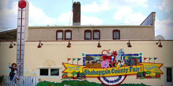 Plymouth, WI Sheboygan County Fair Mural