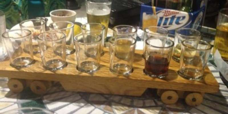 Rail House Sampler Tray