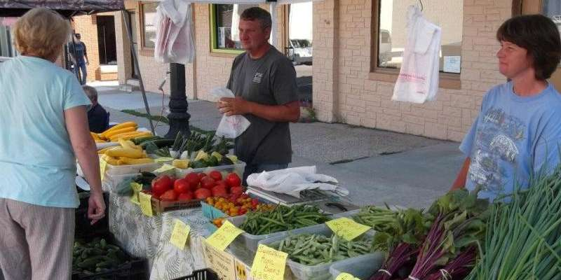 Woodland Valley Farm is a permanent vendor at the Baraboo Farmers' Market