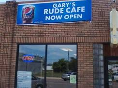 Image for Gary's Rude Cafe