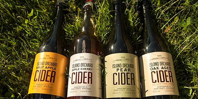 Our Normandy Style Ciders. Photo courtesy of Leo Purman.