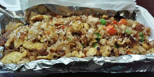 New - Tuesday Special - Fried Rice with Chicken or Veggies