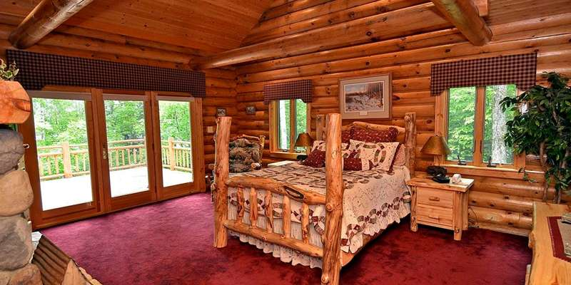 The 'up north' bedroom