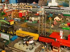 Image for Toy Train Barn