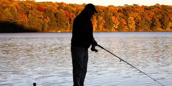 The beauty of fall fishing