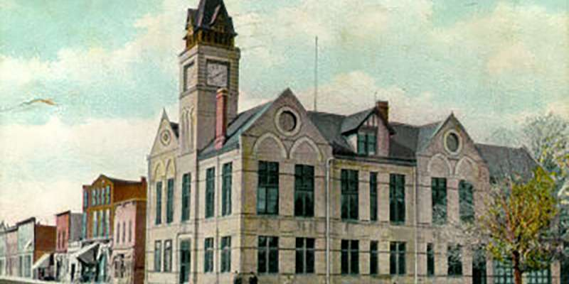 Oconomowoc City Hall is one of the city's older buildings.
