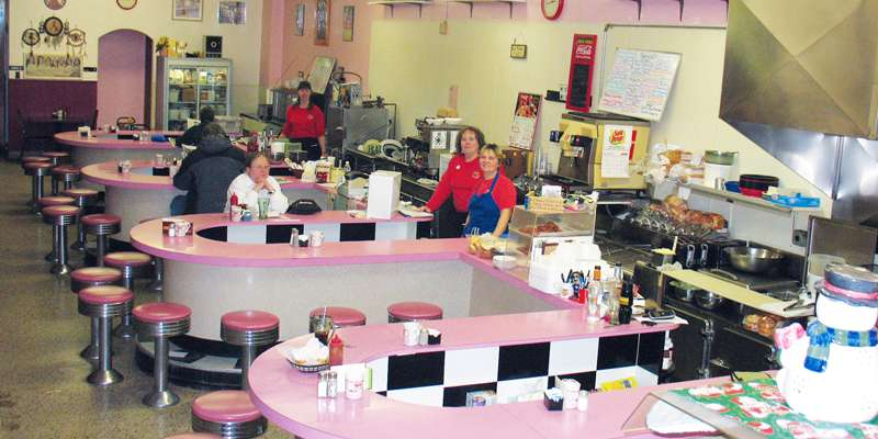 Shawano's original 50's diner serving great old fashioned food just like Grandma's.