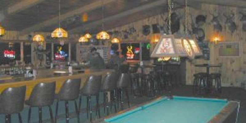 Stop in at the lodge for a drink or a game of pool!