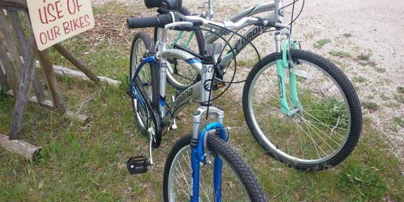 Rent a bike for free! Pedal through Door County North and enjoy the sights!