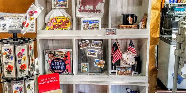 We have numerous displays, gifts, and greeting cards