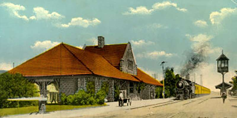 The Oconomowoc Depot, now a fun restaurant to eat at, once served as the place to come and go in the city.