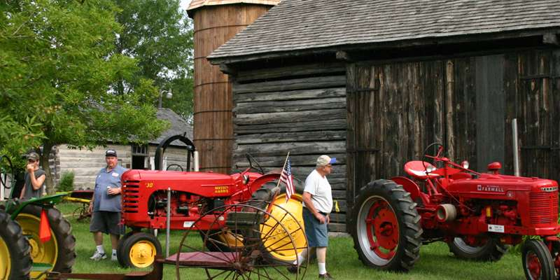 The 2015 Antique Tractor & Machinery Show will take place on July 18 and 19
