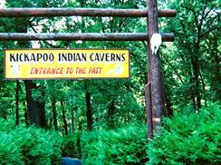 Image for Kickapoo Indian Caverns