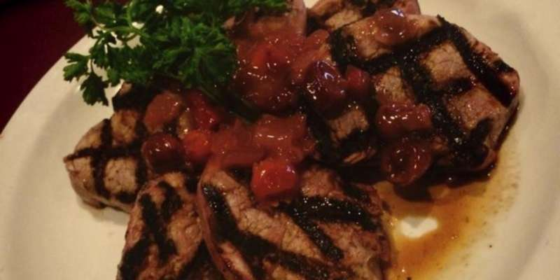 Door County Cherry Pork Medallions