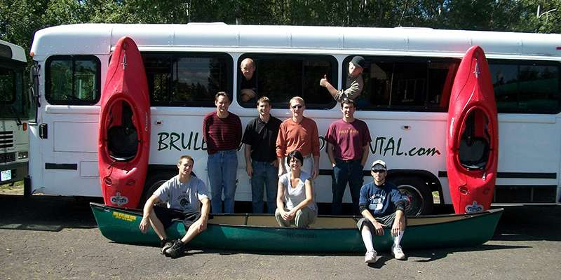 Brule River Canoe Rental offers shuttle service, canoe and kayak rentals, and more.