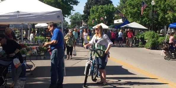 Downtown Fond du Lac's Farmers Market