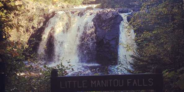 Little Manitou Falls photo by Anya Russom.