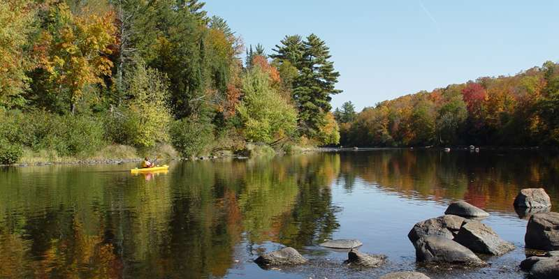 North Fork Flambeau River, Oxbo to Hwy W stretch