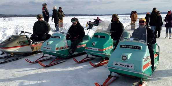 Join us for Winter Rally on the 'Roo for snowmobile drag races.