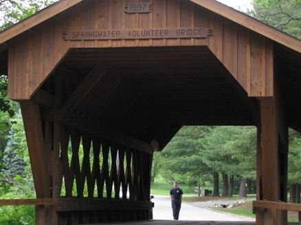 Image for Springwater Volunteer Covered Bridge