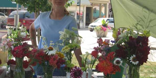 Weekly farmers market every Tuesday May through October starts at 2pm