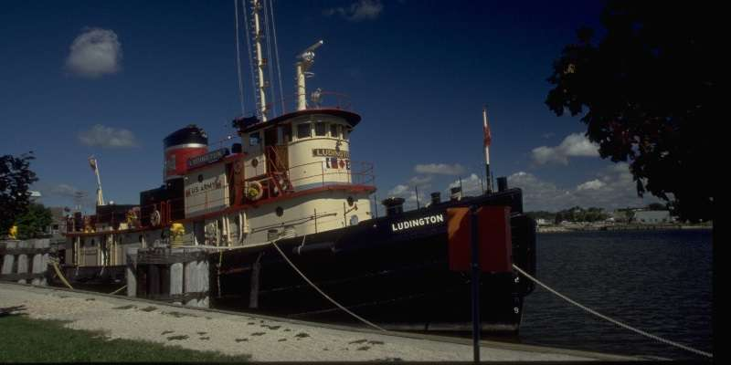 Tugboat Ludington at Kenwaunee