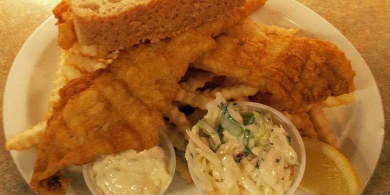 Friday Night Fish Fry Walley or Pollack, your choice!