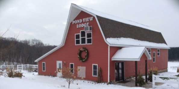 1940's restored barn, features all modern-day amenities