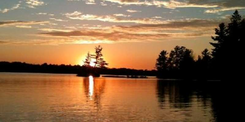 There's nothing better than a Spider Lake sunset and Timber Bay Resort!