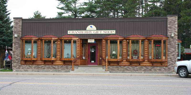 Alder Lake Craberry Gift Shop, Main Street Boulder Junction