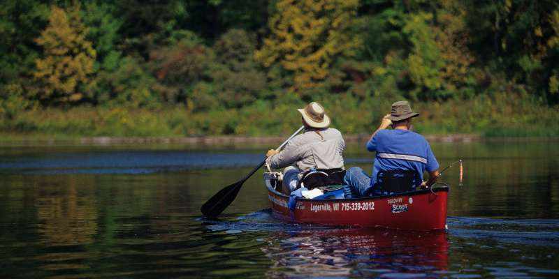 Flambeau River Canoeing
