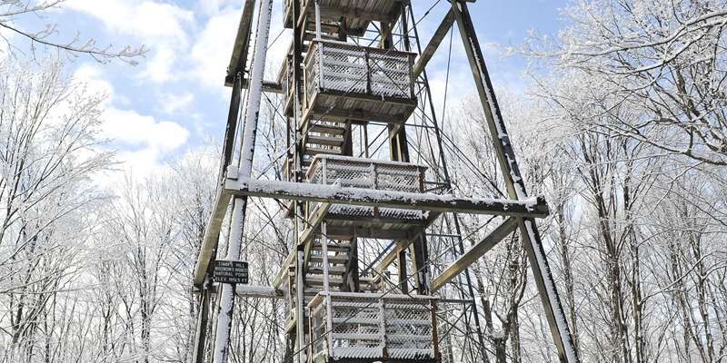 ATV/UTV riding at Timm's Hill Wisconsin's highest geographical point p.c. Kathi Hlasny