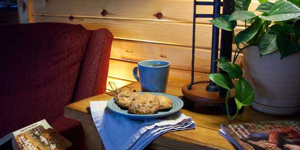 How do you make the best accommodations even better? As we have since day one in 2003, The Kickapoo Valley Ranch Guest Cabins has the best cookies ever waiting for every guest!