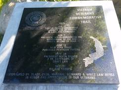 Image for Vietnam Veterans Commemorative Trail