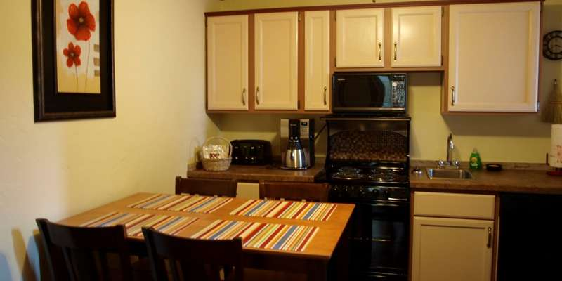 Comfortable Kitchen in the Upstairs Suite