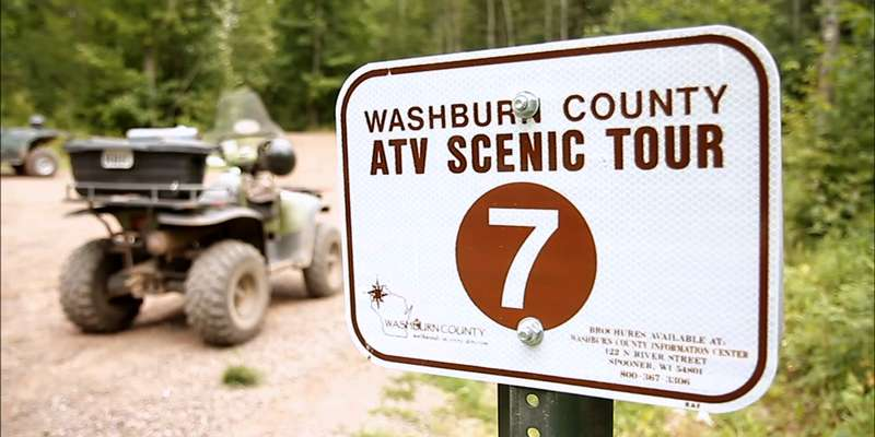 ATV Scenic Tour, a great way to explore the trails!