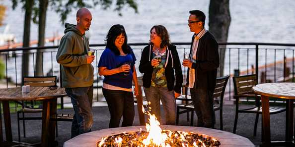 Unwind on the BoatHouse Fire Pit