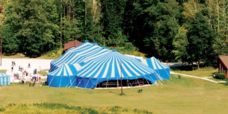 Big Top Chautauqua - one of many attractions along the Lake Superior Trail.