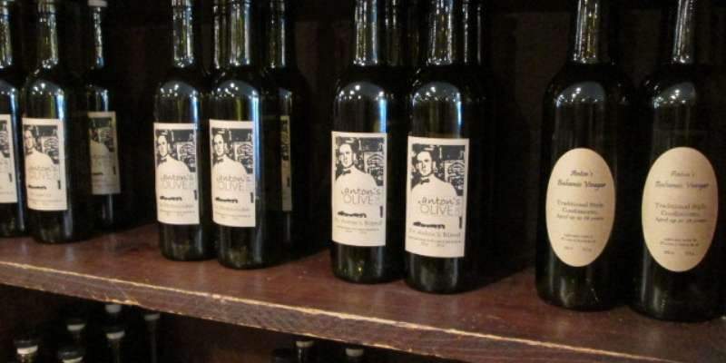 Anton's Olive Oil & Vinegar is also located in Cujak's.