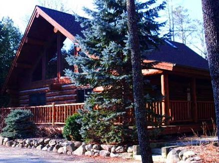 Image for Nostalgic Custom Built Log Home