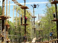 Image for Trollhaugen's Aerial Adventure Park