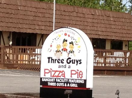 Image for Three Guys and a Pizza Pie
