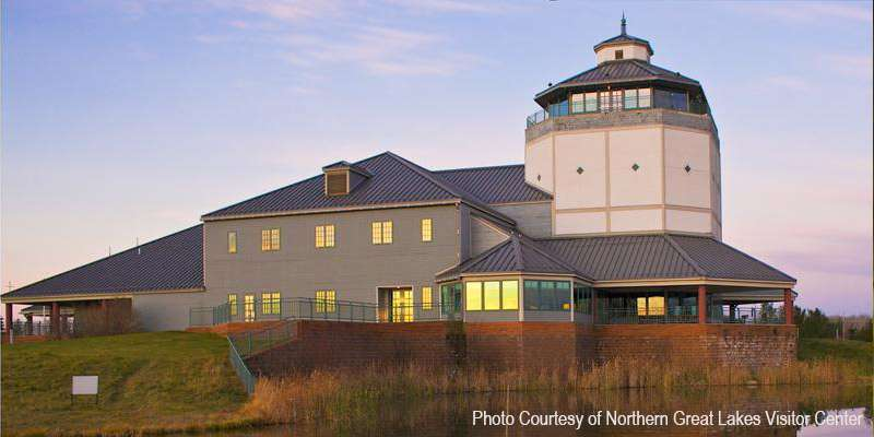 The Northern Great Lakes Visitor Center is a must for those visiting the Chequamegon Bay area.