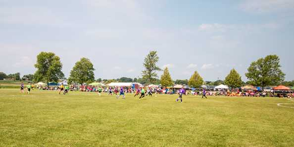 Soccer Saturday at Winnebago County Community Park