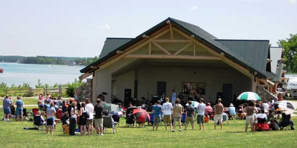 Music & Movie at Shell Lake Pavilion Monday Nights