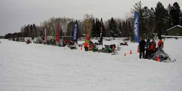 Snowmobile Races - 4th weekend in January