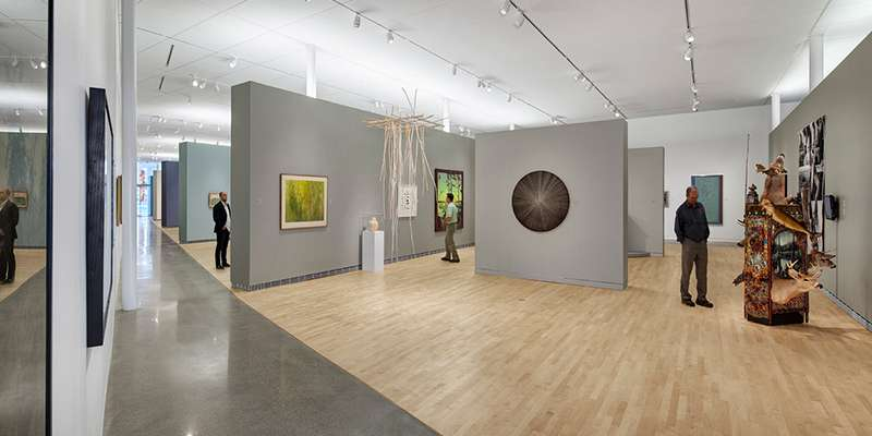 Museum of Wisconsin Art, Collections Galleries